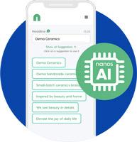 Nanos AI Text Suggestions